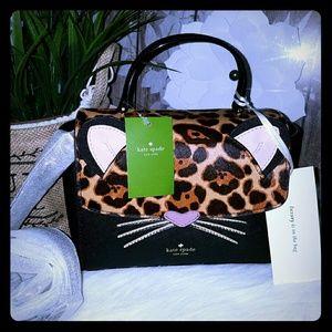 Kate spade leopard kerrie crossbody bag